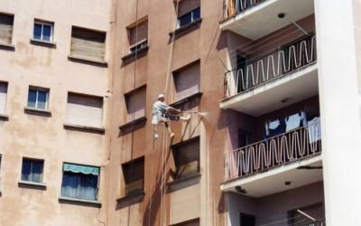 Restauración de fachadas por MVertical