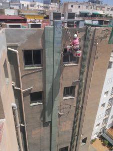 trabajos verticales en Tarragona rehabilitacion de fachada